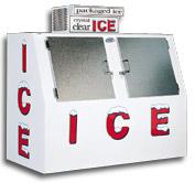 model 60 slant outdoor ice box