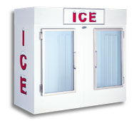 model 85 indoor upright ice box